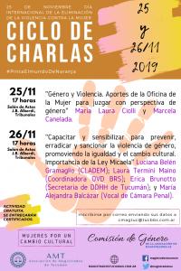 charlas 25-11